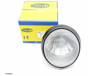 Magneti Marelli Headlight H4 Black Border Fits Porsche 911 964