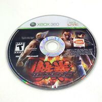 Tekken 6 (Microsoft Xbox 360, 2009) Disc Only With Generic Case, Tested!
