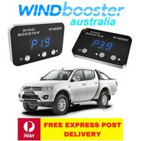 Windbooster 9-mode throttle controller to suit Mitsubishi Triton MN 2009-2015