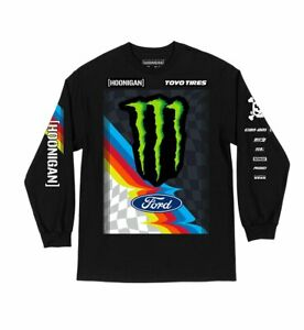 Official Hoonigan Ken Block KB20 Long Sleeve T-Shirt - Free UK Shipping