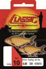 Paladin Classic Brassen Meisterhaken Gebunden Angelhaken