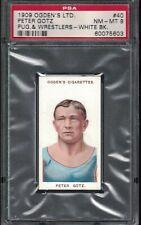 1909 Ogden Pugilists and Wrestlers PETER GOTZ Boxing Wrestling Card PSA 8 pop 1