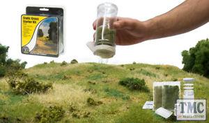 FS647 Woodland Scenics Static Grass Starter Kit