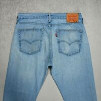 Mens LEVIS 510 Skinny Jeans Size W32 L31 Slim fit Stretch Denim Light blue Pants
