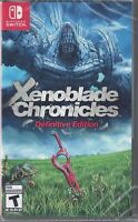 Xenoblade Chronicles: Definitive Edition - Nintendo Switch [Region Free RPG] NEW