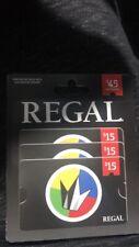 Regal Cinemas Movie Gift Cards $35 ~ FREE SHIPPING!