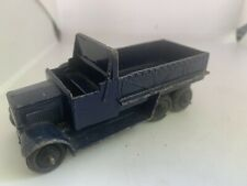 Early Dinky Toys Blue Die Cast Metal Army Or Navy Truck Lorry