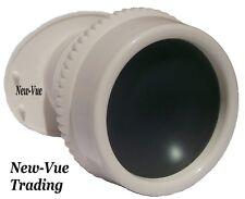Wide Angle Peephole Door Viewer Door Scope  View White