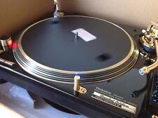 1x Technics SL1200GLD DJ Turntable Ltd Edition 2542 24k Gold Plated very rare