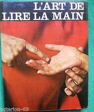 L'ART DE LIRE LA MAIN J.M.MORGAN