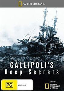 National Geographic - Gallipoli's Deep Secrets (DVD, 2011) New  Region 4
