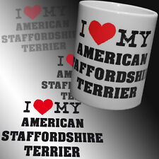 Coffee Cup American Staffordshire Terrier Pitbull staffbull