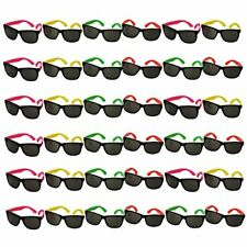 NEW Bulk Lot of Neon Sunglasses 36 Pair FREE SHIPPING