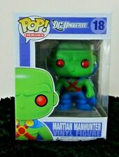 Funko Pop Heroes DC Universe 18 Martian Manhunter Vinyl Figure Rare New