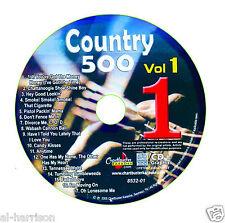 KARAOKE CHARTBUSTER CDG COUNTRY 500 VOL.1 DISC CB8532  DISC #1