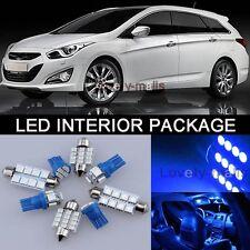4Pcs Blue Map/Trunk Lights Interior LED Package Kit For Toyota Celica 2000-2005