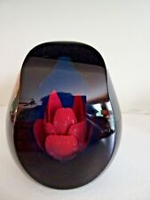 Limit Edition Caithness Glass CRIMP ROSE FACETED Paperweight GRACE Colin Terris