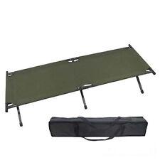 Extra langes großes Alu Feldbett XXL US Camping Bett PVC beschichtet Tragetasche