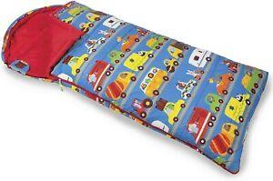 Kampa Animal Traffic Junior Childrens Sleeping Bag with Stuff Sac