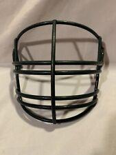 Vintage Riddell Football Helmet Face Mask  Metal Grill Green 5 92 Full Cage