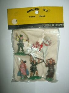 Britains herald robin hood full set 60's Hong Kong copies in picture card vg/con