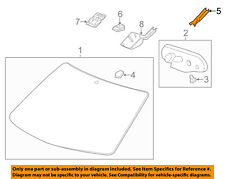 GM OEM Inside Rearview Rear View Mirror-Cover Cap Trim 22778166