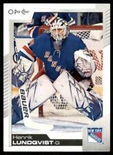 2020-21 UD O-Pee-Chee Base #62 Henrik Lundqvist - New York Rangers