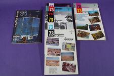 9 issues of 73 Magazine For Radio Amateurs 1972-1975