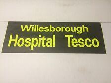 "Ashford Kent Bus Blind 33""- Willesborough Hospital Tesco"