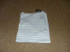 Mens All Saints Maul Tonic striped crew T Shirt size xxl 44 chest new