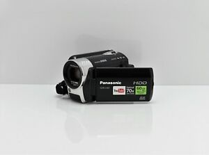 PANASONIC SDR-H81 CAMCORDER 60GB HARD DISC DRIVE / SD CARD DIGITAL VIDEO CAMERA