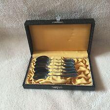 alte Mokkalöffel Löffel Besteck Kasten 90er Auflage Etui 6 Stück