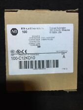 New! Allen-Bradley 100-C12KD10  Contactor, 110V50/60HZ, 1 N.O., 3 Main Poles
