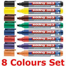 Edding 363 Whiteboard Markers Pens Chisel Tip All Colours Single Pen Or Pack