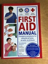 First Aid Manual Sixth Edition Paperback Book Comprehensive Guide DK Books