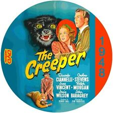 "The Creeper (1948) Sci-Fi and Horror NR CULT ""B"" Movie DVD"