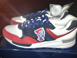 Polo Ralph Lauren Trackstar 100 Sneaker P Wing- Red/White/Blue USA men Size 11.5