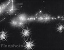 1925/63 Vintage 11x14 NEW YORK CITY Surreal Lights Evening Art ~ EDWARD STEICHEN
