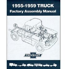 1955 1956 1957 1958 1959 Chevy Truck Factory Assembly Manual