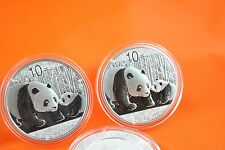 2011  1 oz Silver Chinese Panda Coin  *
