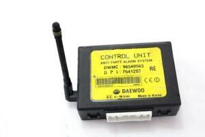 96540563 ECU Module Alarme Système Antivol DAEWOO Kalos 1.2 53KW 5P B 5M (2004