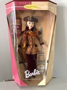 1998 Barbie Fall Collection Autumn In Paris Collector Edition 19367 NRFB