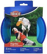 Trixie Perro Frisbee Disco de Plástico morder prueba 23 Cm De Diámetro Colores: Azul, Naranja