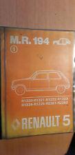 Renault 5 R5 + Alpine R1223 : Manuel d'atelier réparation carrosserie MR194