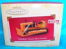 Hallmark Ornament 2004 Tonka-Giant Bulldozer
