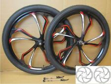 "27.5"" 650B MTB Bike Magnesium Alloy 8/9/10 Speed Disc QR Front Rear Wheel Set"
