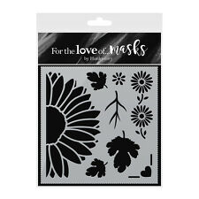 DAINTY DAISIES - Stencil - For The Love of Masks - Hunkydory