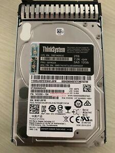 """7XB7A00035 2.5"""" 2TB 7.2K SAS 12Gb Hot Swap 512n HDD 00YK024"""