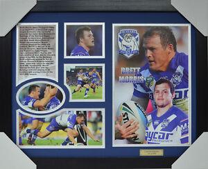 Brett Morris Signed Limited Edition Signature Framed Memorabilia New Blue