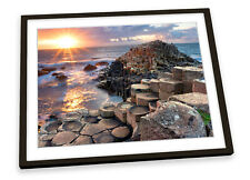 Giant Causeway Northern Ireland FRAMED ART PRINT Picture Poster Artwork